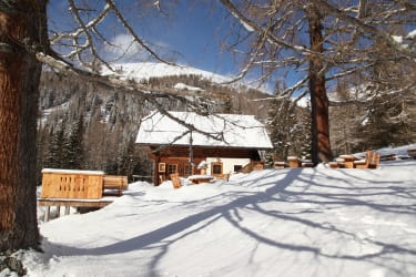 Wintergenuss auf der Lärchenhütte