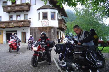 Motorradfahrer herzlich willkommen