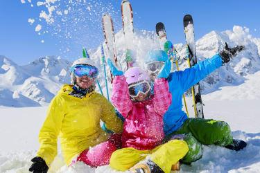 Spaß im Schnee ©nassfeld.at