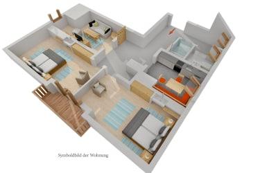 Grundriss Wohnung Gailtalblick