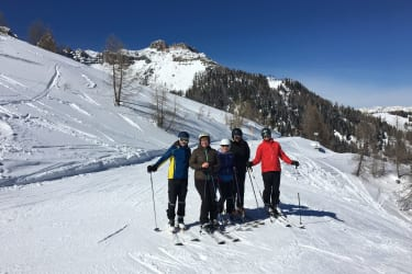Schifahren am Nassfeld