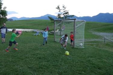 Fussball am Berg