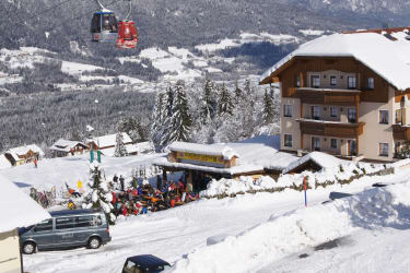 Ederhof im Winter - direkt an der Piste