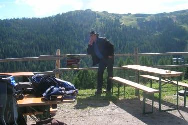 Martin auf der Rudnigalm
