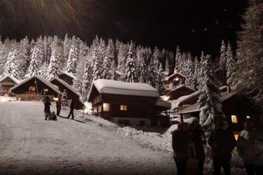 idyllische Winterlandschaft am Nassfeld