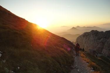 Sonnenaufgang am Gartnerkofel