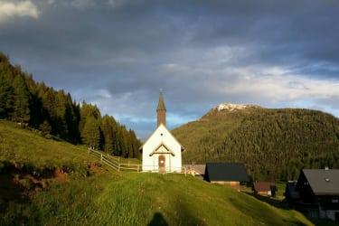 Kirche auf der Egger Alm