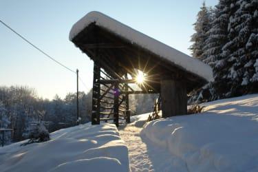 Winter um's Haus