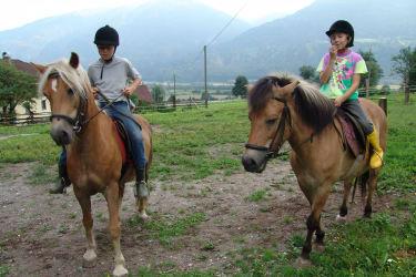 reiten mit Dany und Mimi