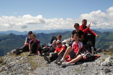 Bergheil-Gipfelsieg mit den Gästen