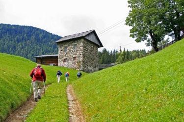 Wanderung nach Frohn