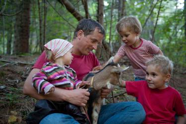 Kinderbetreuung mit Erwin