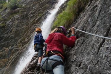 Klettersteig Millnatzenklamm