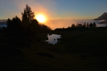 mittagskofel-sonnenaufgang