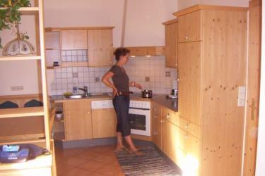 Küche Ferienwohnung Löwenzahn