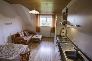 Küche Ferienwohnung Endlich Urlaub