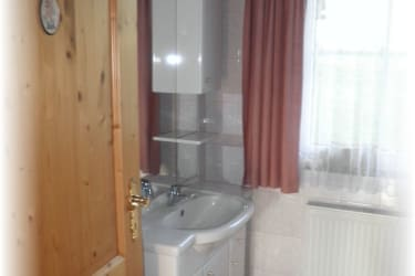Almhaus - Waschraum