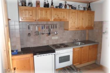 Almhaus - Küche