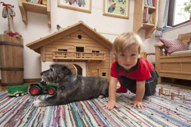 Karolina mit Hund