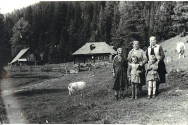 Fuggerhütte anno 1950