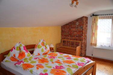Schlafzimmer der Knechtwohnung