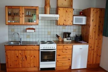 Küche in der Jägerstube