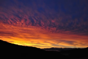 Sonnenaufgang am Schlintl-Hof