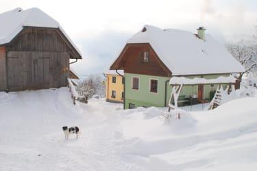 Haus Anderle im Winter