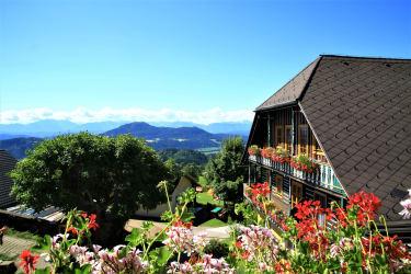 Aussicht Ferienwohnung Burgblick