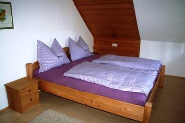 Doppelbett - Zustellbett möglich