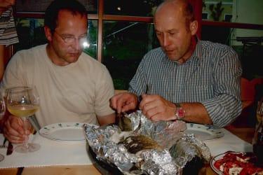 Fischmahlzeit