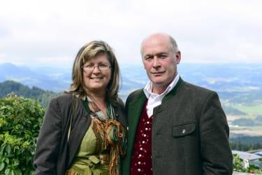 Bauer und Bäurin