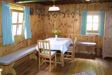 Stube Plinzer Hütte