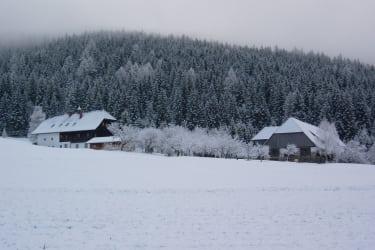 Biobvauernhof Stampfer im Winter