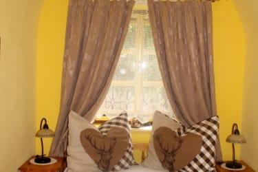 Schlafzimmer mit Gewölbe