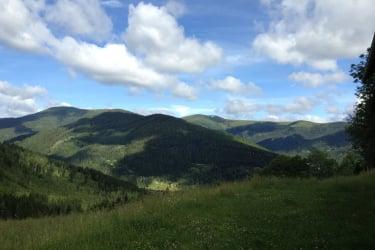 Ausblick vom Almhaus Strutz