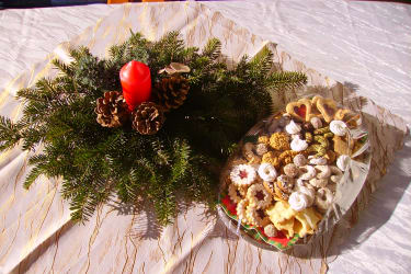 Süßes Weihnachtsfest