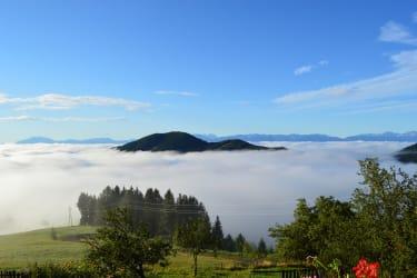 Überm Nebelmeer