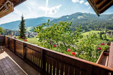 Gutzingerhof Aussicht vom Balkon