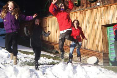 Winterspaß - Schneeburgen bauen, Schneemannfamilien formen ein Iglu bauen!