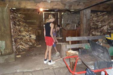 Wärmehelferhütte