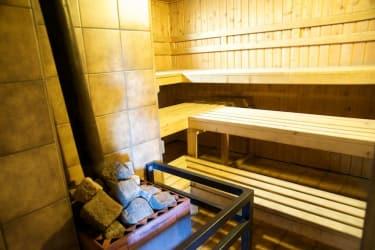Sauna in der Sonnalmhütte