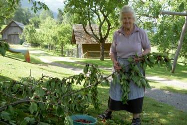 unsere fleissige Großmutter...