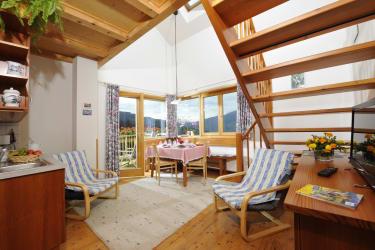 Wohnraum mit Panoramablick