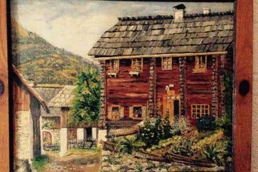 Der Hof vor 100 Jahren