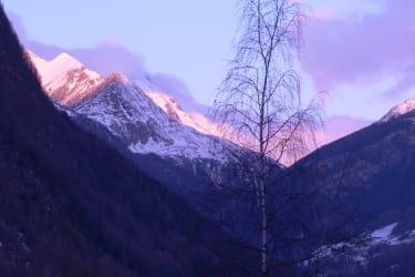 Grossglockner -Winterabend