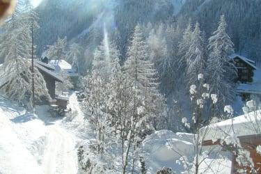 Winterweg zum Hof