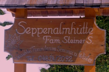 Ihr Urlaubszuhause - unsere Seppenalmhütte