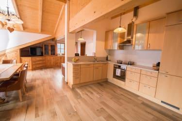 Wohnküche (FeWo Enzian)