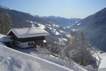 Ferienhaus Seppenbauer - Blick über das Tal  auf 1550 m Seehöhe